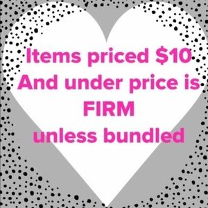 Other - Items $10 & Under Price is Firm 💰